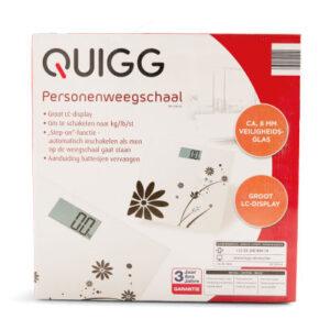 Quigg Bloemen Digitale Weegschaal