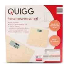 Quigg Zand Digitale Weegschaal