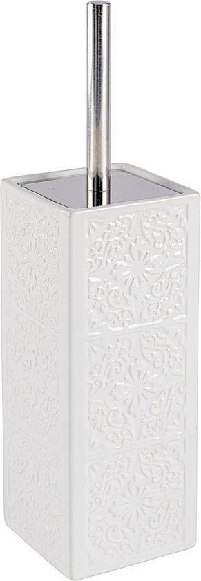 Wenko Toiletborstel Vrijstaand Cordoba-Wit