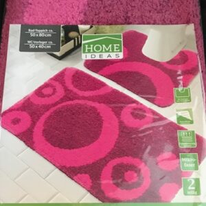 Home Ideas Badset-Roze (Bad+WCmat)