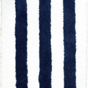 Dutch-House Badmat Vienne Blauw/Wit