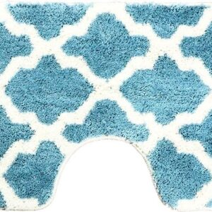 Dutch-House Toiletmat Alhambra Blauw
