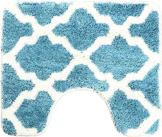 Dutch-House Toiletmat Alhambra Blauw