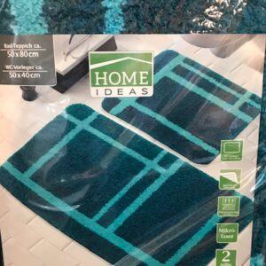 Home Ideas Badset-Blauw (Bad+WCmat)