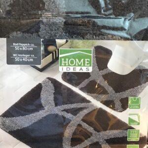 Home Ideas Badset-Zwart (Bad+WCmat)