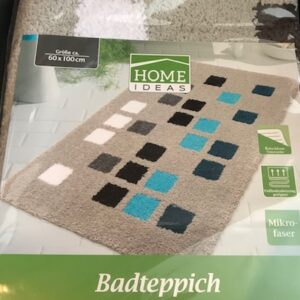 Home Ideas Badmat Beige-blok