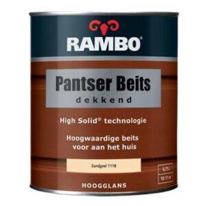 Rambo Pantser Beits Dekkend Zandgeel