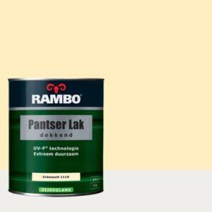 Rambo Pantser Lak Dekkend Zijdeglans Crèmewit