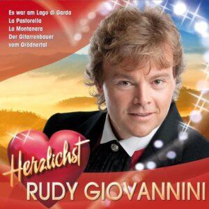 Rudy Giovannini – Herzlichst (CD)