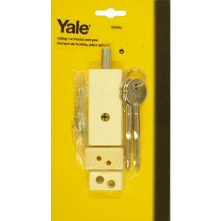 Yale Oplegraamslot enkele pen-Gelijksluitend