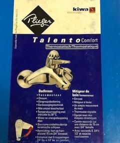 Plieger Talento Thermo-Badkraan – 15cm.