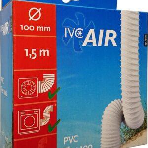 Ventilatie Flexbuis PVC-Ø100mm-150cm