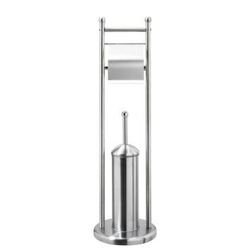 Differnz toiletbutler -Toiletstandaard Chroom