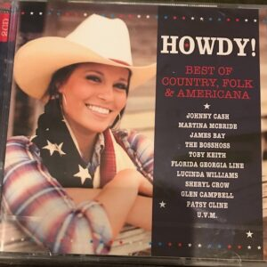 Various - Howdy - Best of Country Folk & Americana (2CD)