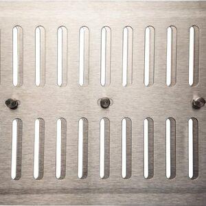 IVC Air Verstelbaar RVS-22.5×15cm.