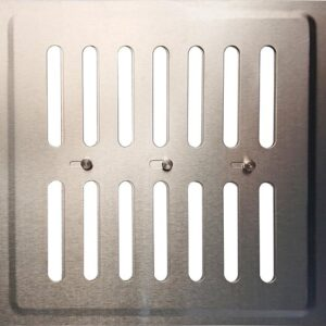 IVC Air Verstelbaar RVS-22.5×22.5cm.