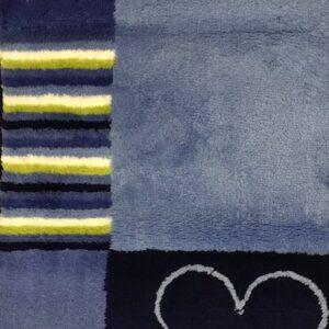 Sealskin badmat Blauwtinten 60x90