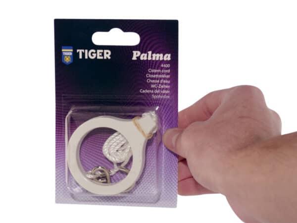 Tiger Palma Toilettrekker Ring Wit