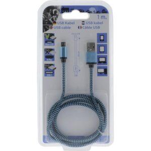 USB Laadkabel ( Usb naar micro-usb ) 1m