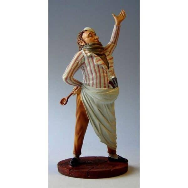 Museum – Restaurateur Hoogte 17cm.Staand