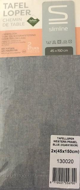 Tafelloper Slimline Western Blue (2x)