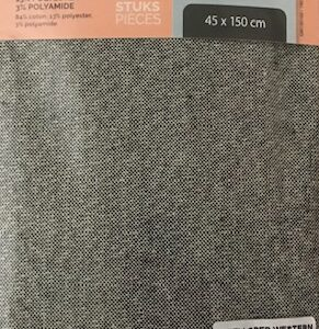 Tafelloper Slimline Western Uni-Black (2x)