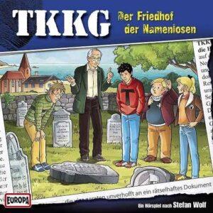 TKKG - Der Friedhof der Namenlosen (CD Folge 194)