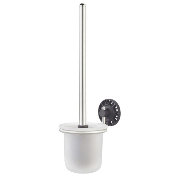 Gamma Ferro Toiletborstelhouder RVS/Zwart