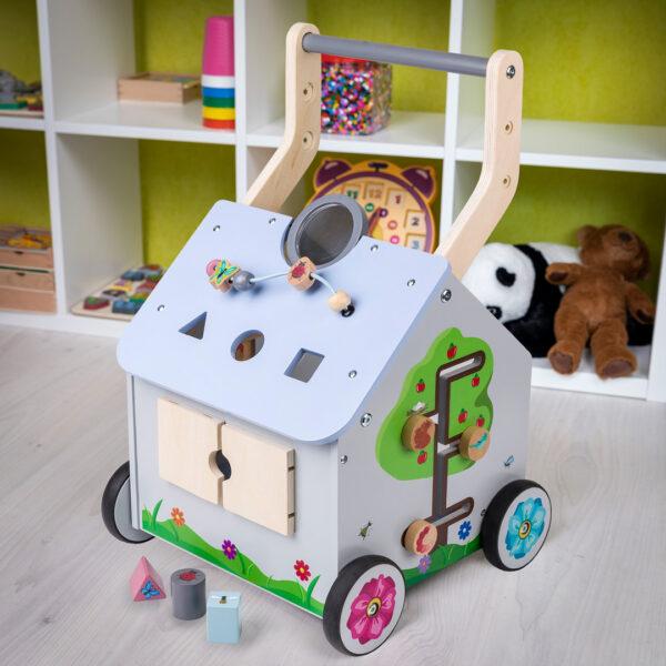 Playland Houten Loopwagen 9maanden