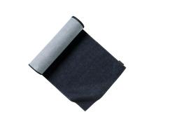 Chaud Devant Blue-Denim tafelloper 50x130