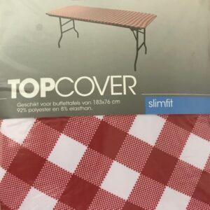 Slimline Buffet-tafel Top-Cover 183x76