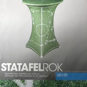 Slimline Sta-tafelrok Voetbal Ø85cm